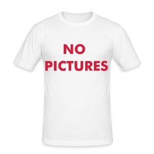 No Pictures - slim fit T-shirt