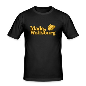Made in Wolfsburg - Männer Slim Fit T-Shirt