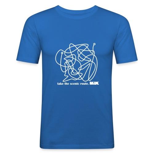 Scenic Route 001 - Men's Slim Fit T-Shirt