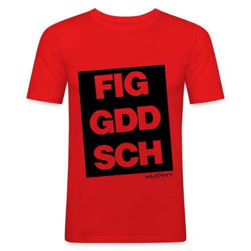 FIGGDDSCH - Männer Slim Fit T-Shirt