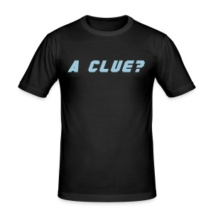 A CLUE (BROX) - Men's Slim Fit T-Shirt