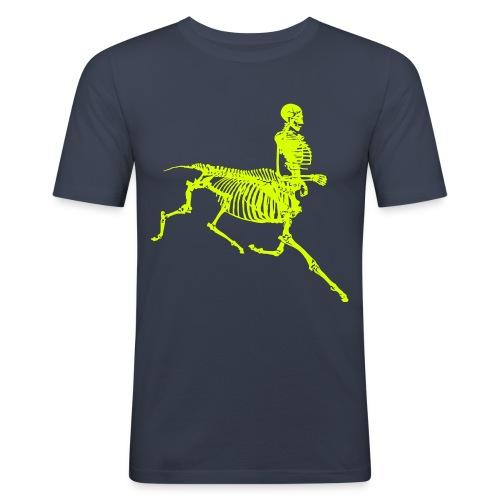 centaur skeleton - Obcisła koszulka męska