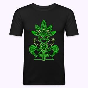 Ankh Mania UV-NEON Men Slim Fit - slim fit T-shirt