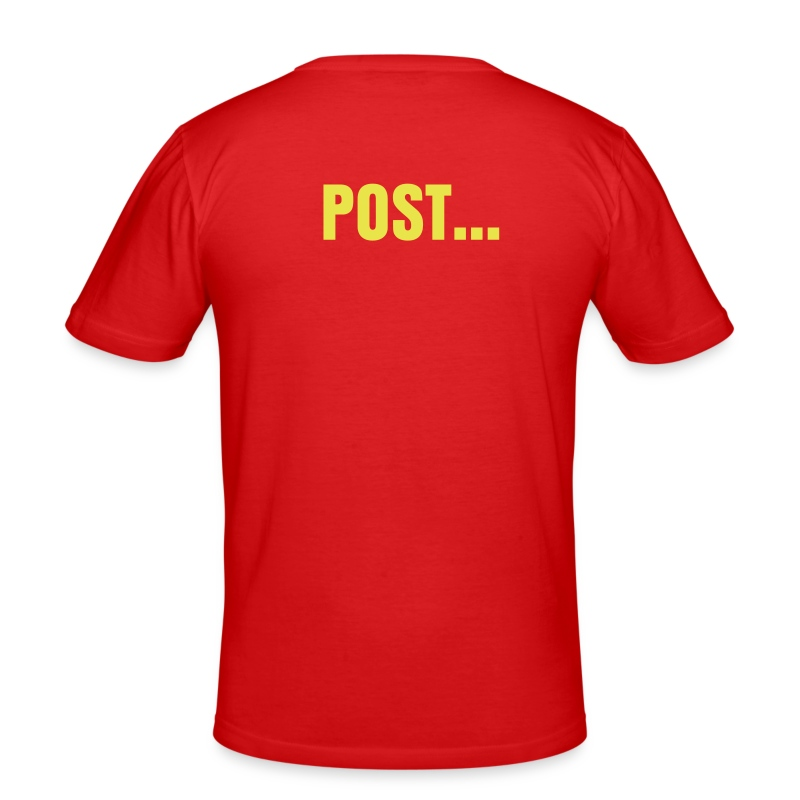 Post... - Slim Fit T-skjorte for menn