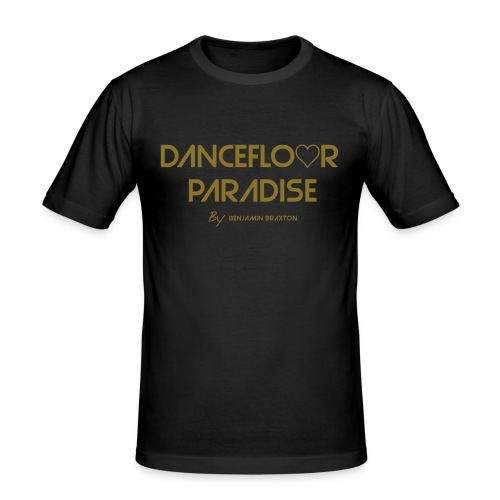 DANCEFLOOR PARADISE GOLD - T-shirt près du corps Homme