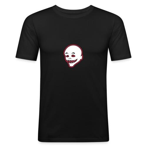 Vintage Retro Comic Zombie Halloween Skull Punk - Männer Slim Fit T-Shirt