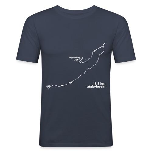 La Route - Men's Slim Fit T-Shirt