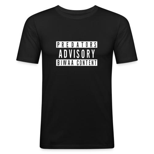 Predators Advisory - T-shirt près du corps Homme
