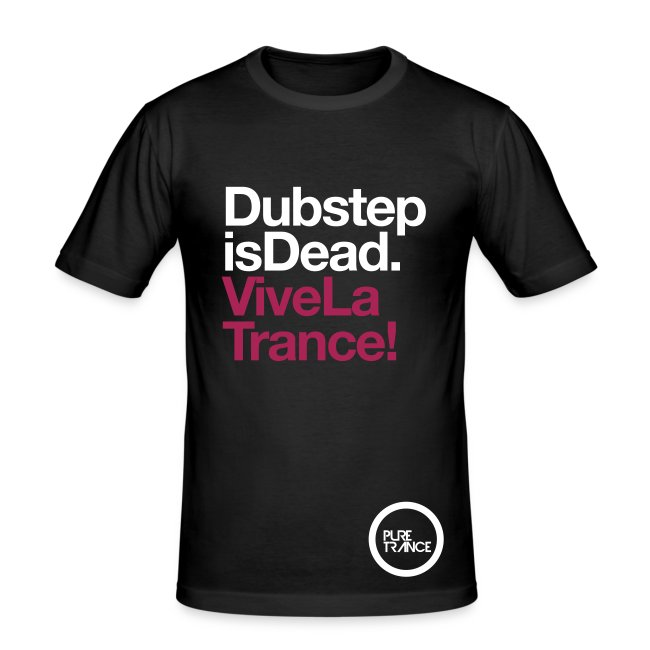 Dubstep Is Dead... [Male] White / Magenta