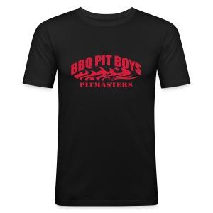 Official BBQ Pit Boys Mens T-Shirt - Men's Slim Fit T-Shirt