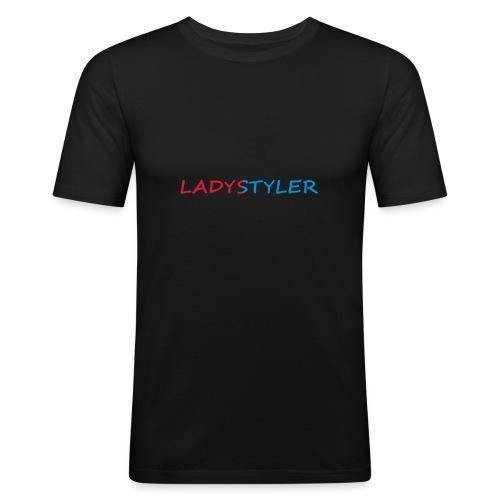 Ladystyler Slim Shirt - Männer Slim Fit T-Shirt