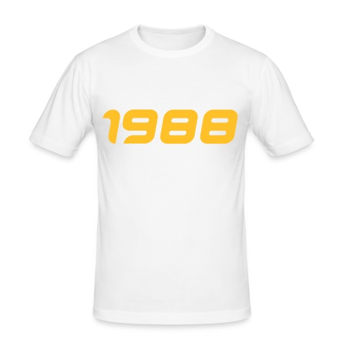 1988 - Männer Slim Fit T-Shirt