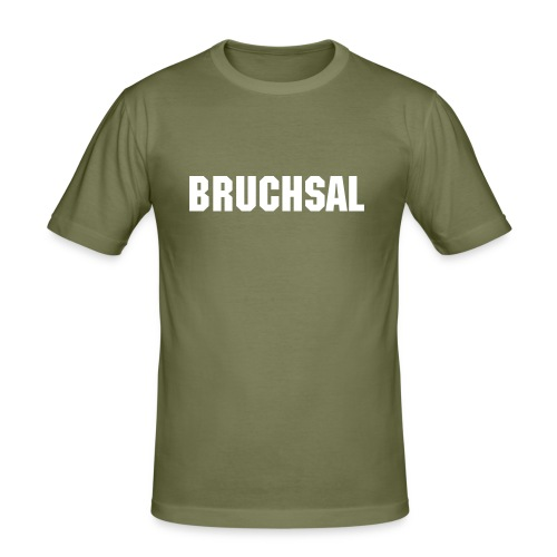 Bruchsal Shirt! - Männer Slim Fit T-Shirt