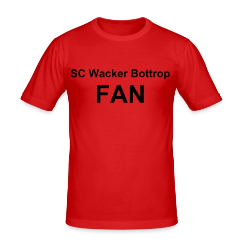 SC Wacker Bottrop FAN - Männer Slim Fit T-Shirt
