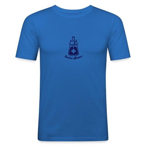 Streuer Shirt Light Blue - Männer Slim Fit T-Shirt