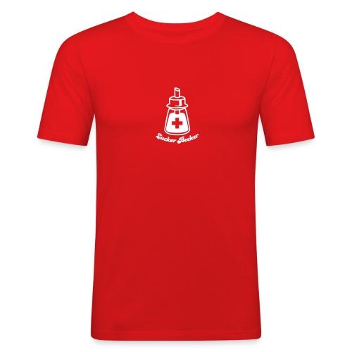 Streuer Shirt - Männer Slim Fit T-Shirt
