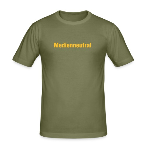 Medienneutral - Männer Slim Fit T-Shirt