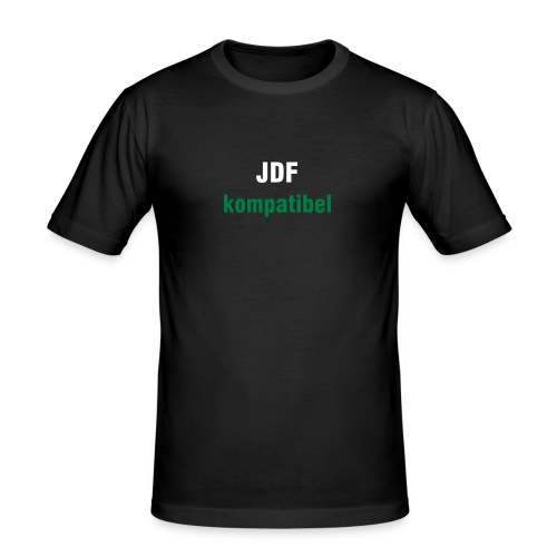 JDF kompatibel - Männer Slim Fit T-Shirt