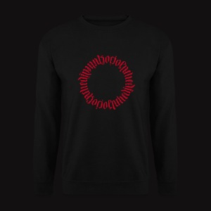 ambigram Djamal Sociopathe Sweat Flocage - Sweat-shirt Homme
