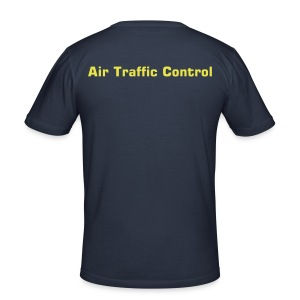 """Air Traffic Control"" T-Shirt, dark navy - Männer Slim Fit T-Shirt"