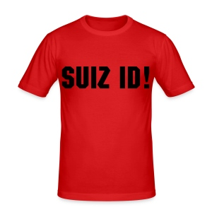 Suizid - Shirt - Männer Slim Fit T-Shirt