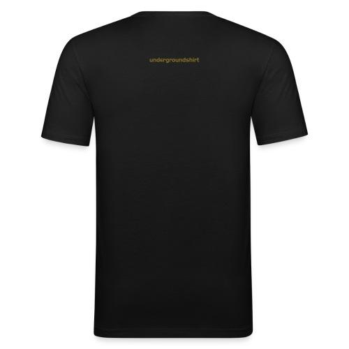 Golden Showers T GoA - Männer Slim Fit T-Shirt
