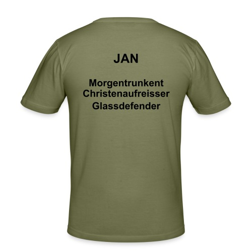 Jan - Männer Slim Fit T-Shirt