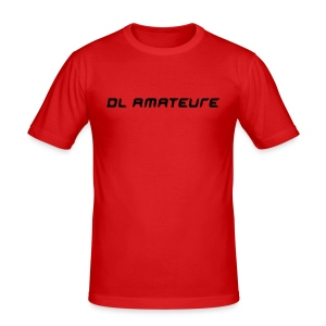 DL Amateure orange - Männer Slim Fit T-Shirt
