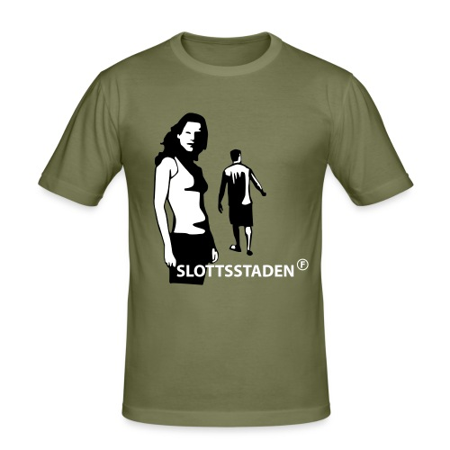 Fubbick Slottsstaden T-Shirt - Slim Fit T-shirt herr