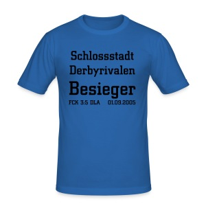 Derbysieg 2005 sky - Männer Slim Fit T-Shirt