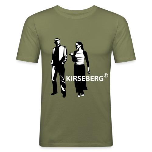 Fubbick Kirseberg T-Shirt - Slim Fit T-shirt herr
