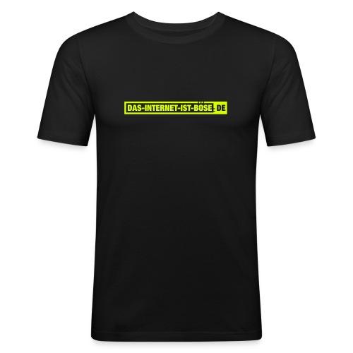 Das Internet Ist Böse - Männer Slim Fit T-Shirt