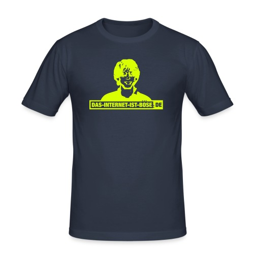 Das Internet Ist Böse -  Bill - Männer Slim Fit T-Shirt