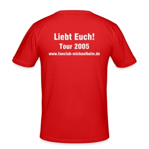 Tour 2005 orange - Männer Slim Fit T-Shirt
