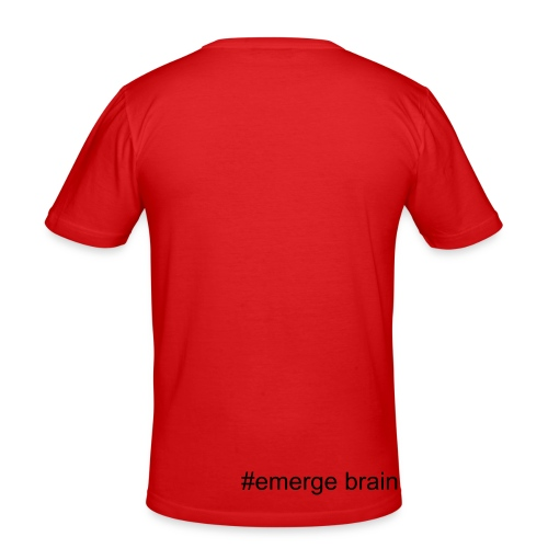 #emerge brain - Männer Slim Fit T-Shirt