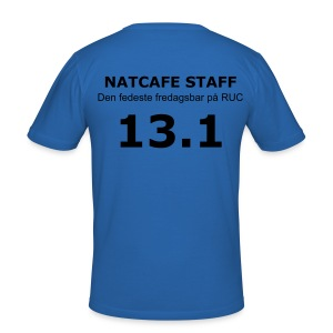Natcafe Staff - Men's Slim Fit T-Shirt