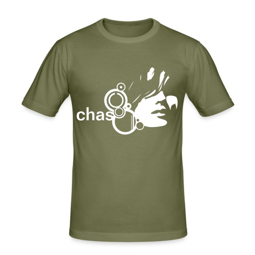 shade - olive - Männer Slim Fit T-Shirt