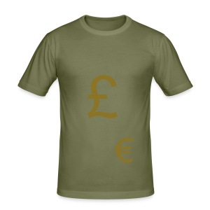 Flash that cash - Men's Slim Fit T-Shirt