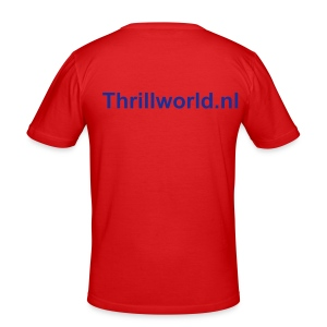 ThrillWorld.nl Officieel Shirt! - slim fit T-shirt