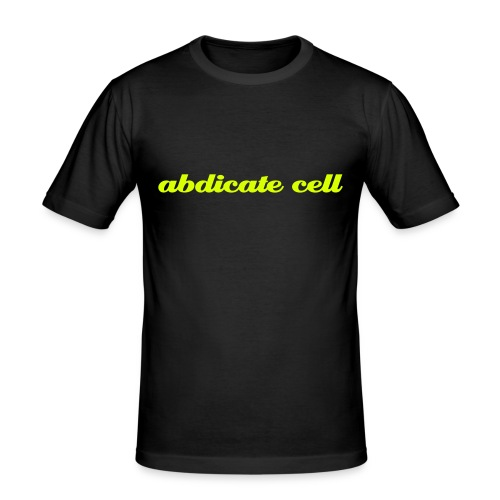 Abdicate Cell - Men's Slim Fit T-Shirt