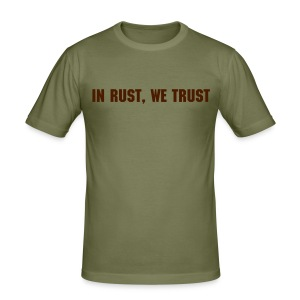 In rust we trust 3 - Tee shirt près du corps Homme