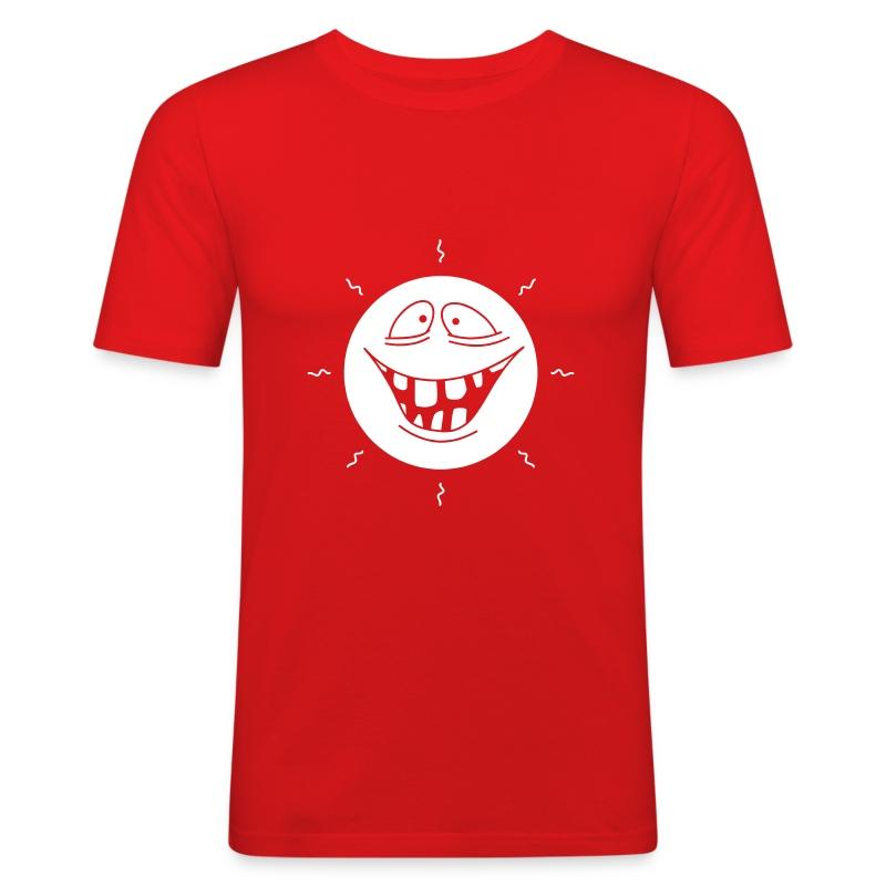 *gnicker* - Männer Slim Fit T-Shirt