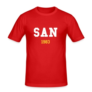 SAN T-shirt - Men's Slim Fit T-Shirt
