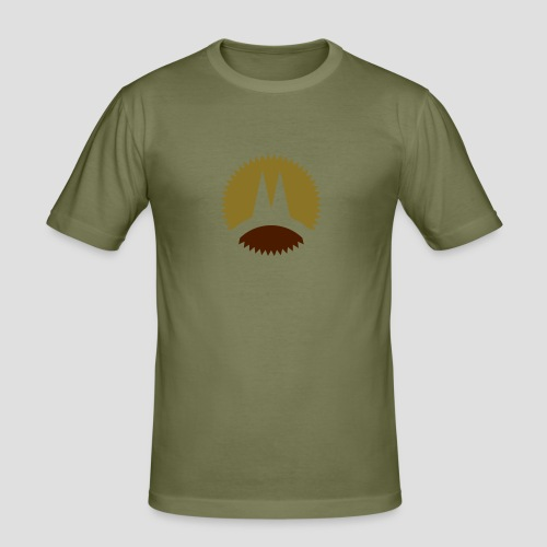 Sommer in Köln - Männer Slim Fit T-Shirt