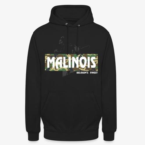 Malinois Camouflage Hoodie - Unisex Hoodie