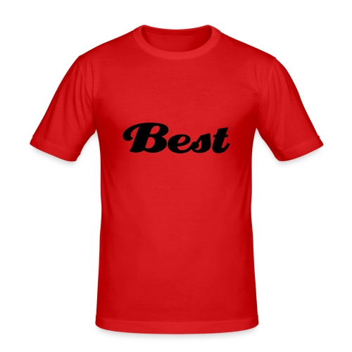 Best Football Tee Shirt - Men's Slim Fit T-Shirt