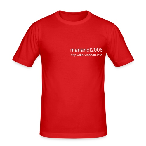 mariandl 2006 Shirt - Männer Slim Fit T-Shirt