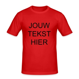 WK 2006 special Edition; Plaats je eigen WK kreet! - slim fit T-shirt