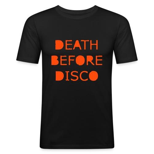 Death before Disco - Men's Slim Fit T-Shirt