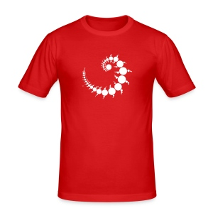 Julia96 - Männer Slim Fit T-Shirt